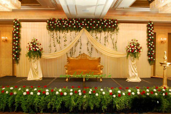 Hall Decoration For Wedding Reception Vmp Organic Arch
