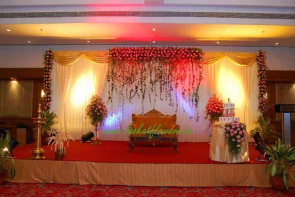 Latest Wedding Reception Decoration Vmp Organic Arch