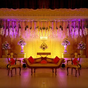 Wedding stage decorators